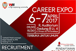 Jadwal Career Expo Recruitment Campus Bulan April 2017