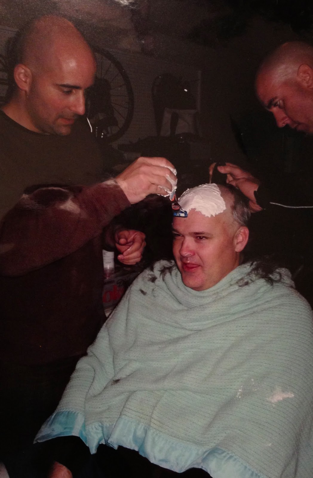 Shaved my husband