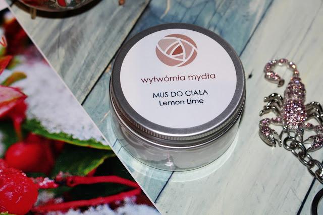 Wytwórnia Mydła : Mus do ciała Lemon Lime