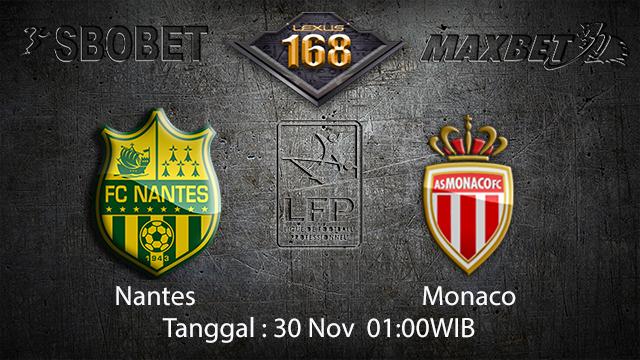 PREDIKSIBOLA - PREDIKSI TARUHAN BOLA NANTES VS MONACO 30 NOVEMBER 2017 (LIGUE 1)