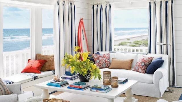 Rumah Gaya Coastal Atau Nautical