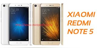 Xiaomi Redmi note 5 Harga dan Spesifikasi 2017