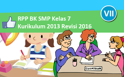 Download RPP BK SMP Kurikulum 2013 Kelas 7 Revisi 2016