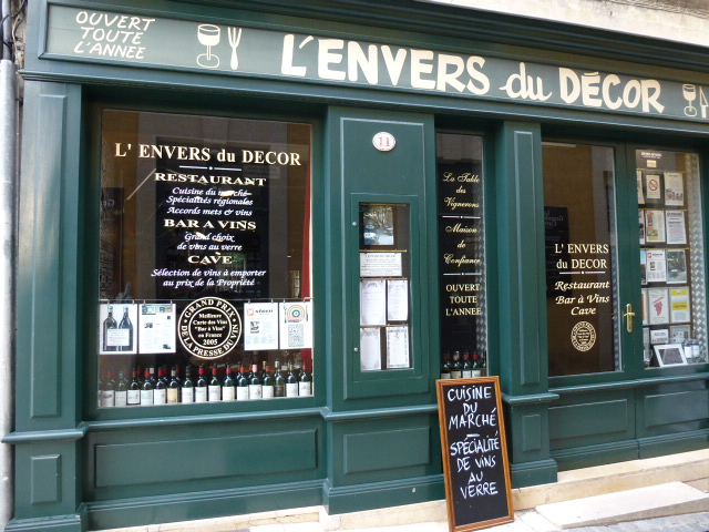 プロヴァンス日記 restaurant l envers du decor