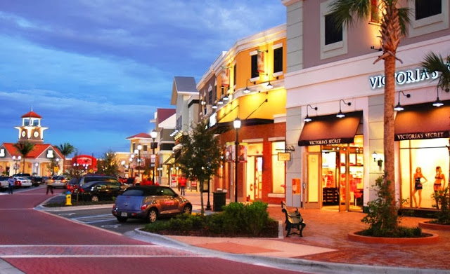 Compras Shopping Winter Garden Village en Orlando