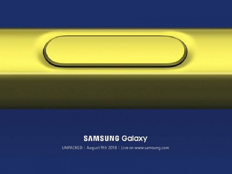 Samsung Galaxy Note9 to be announced on August 09!