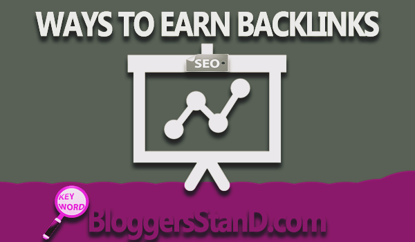 best top 10 easy Ways To Earn And Build Backlinks for blogger wordpress website
