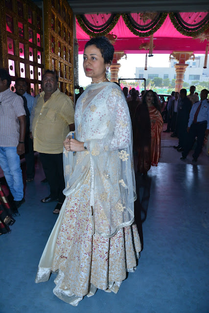 Namrata Shirodkar at T.SubbaramiReddy Grand Son Keshav Wedding