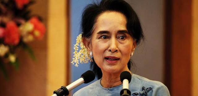 Bukan Membela, Aung San Suu Kyi justru Menyebut Muslim Rohingya Teroris