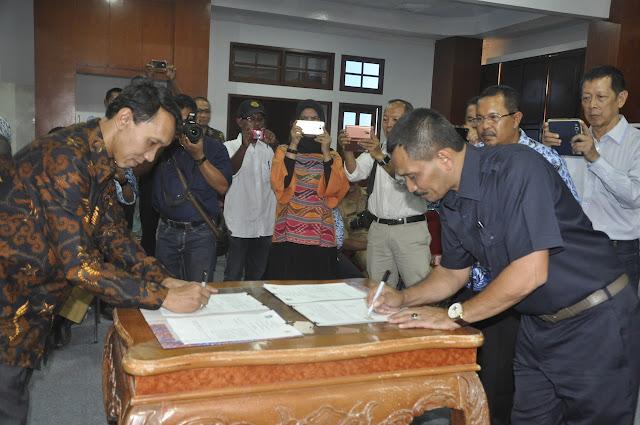 PT. Energy Management Indonesia Janji akan Bangun PLTA di Krueng Teunom