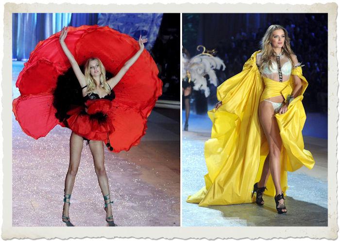Lily Donaldson e  Toni Garn al Victoria's Secret Fashion Show 2012