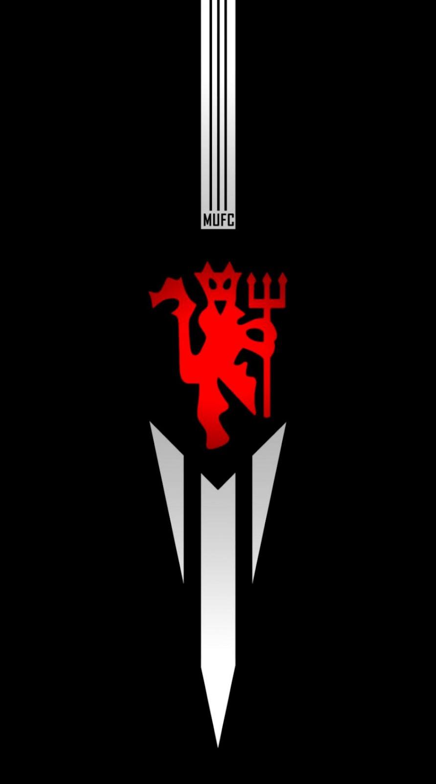 3d Manchester United Red Devils Logo Desktop Wallpapes Hd