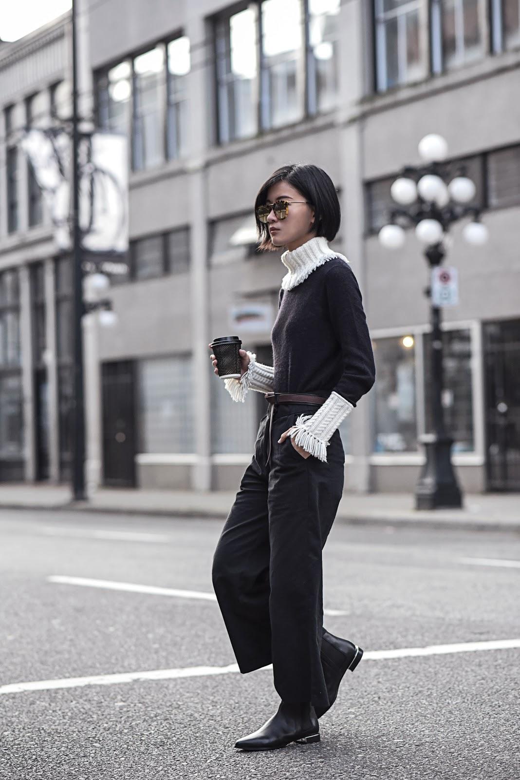 claire liu von vogue tory burch sweater kenzo boots karen walker sunglasses