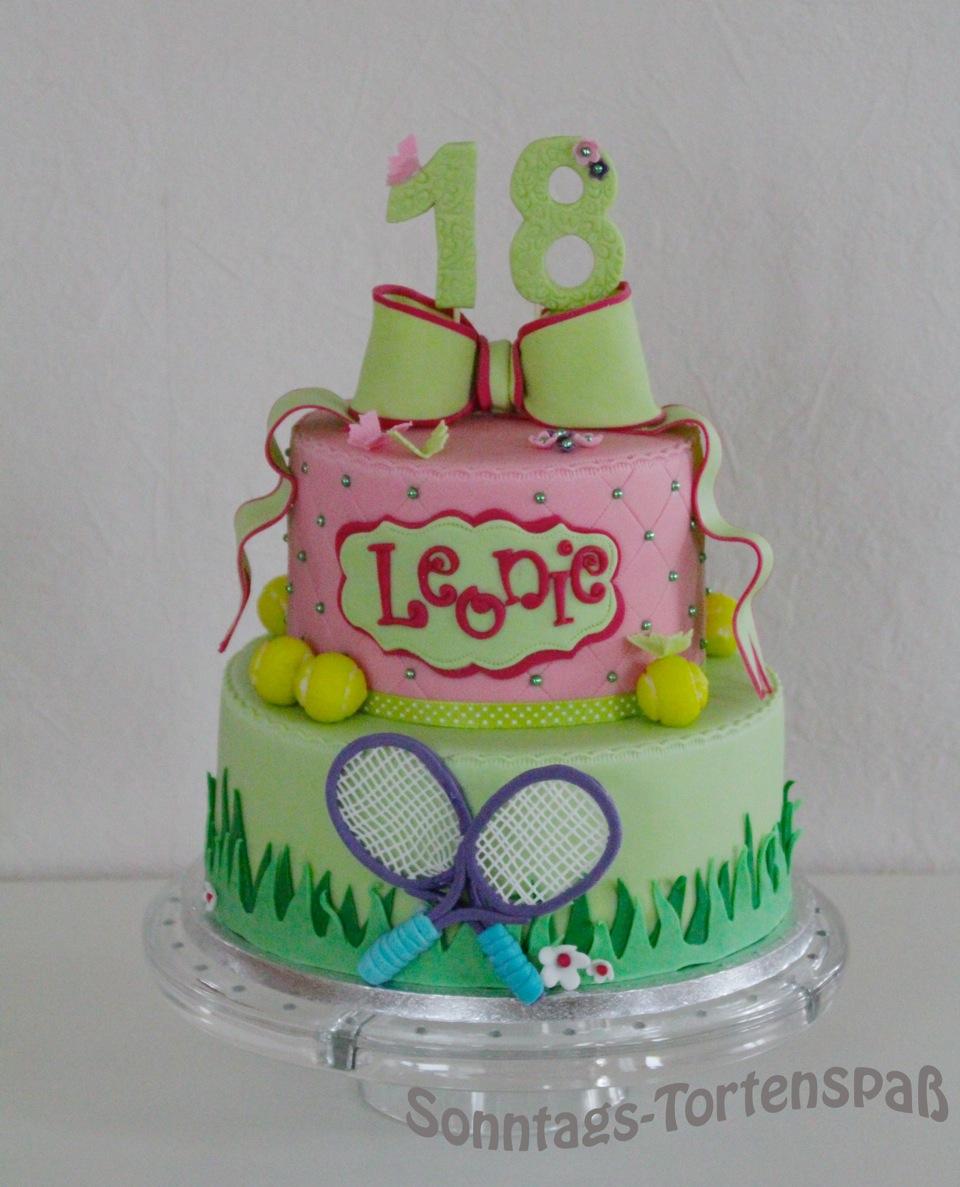 Immer Wieder Sonntags Torte Zum 18 Geburtstag