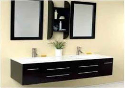 bathroom color for small