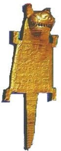 Imagen de la orfebrería de la cultura Vicus