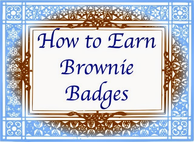 How to Earn Brownie Badges
