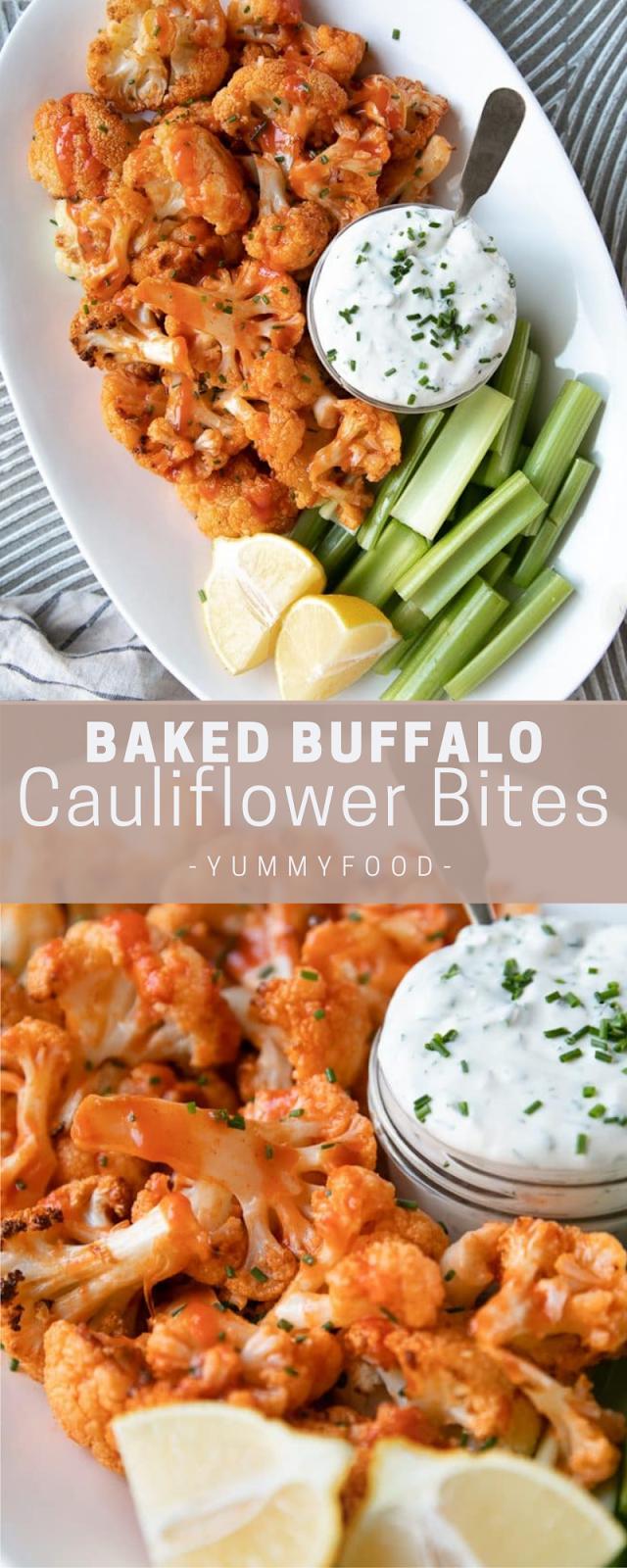 Bаkеd Buffalo Cаulіflоwеr Bites