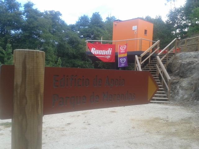 Edifício de apoio ao parque de Merendas