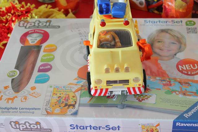 Feuerwehr Geburtstag Kindergeburtstag Feuerwehrmann Sam Jules kleines Freudenhaus Geschenkideen Tom Thomas Bergwacht