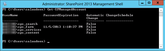 managed account in sharepoint 2013