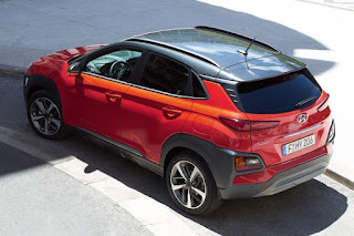 Hyundai Kona (2018) Rear Side