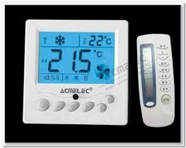 Remote controlled ac thermostat