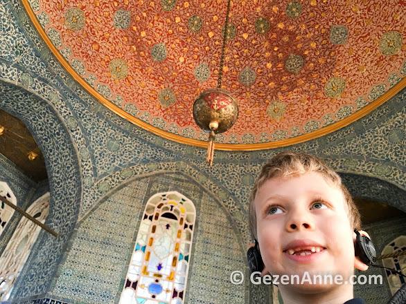 Çocuklu Topkapı Sarayı gezimiz, İstanbul