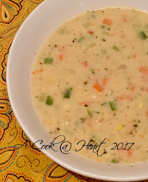 Soup,one pot meal, chowder, vegetable chowder