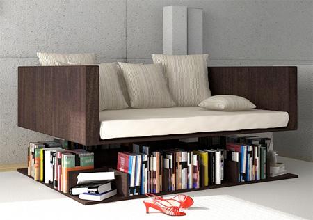 15 Unusual And Creative Bookshelves