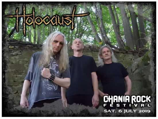 Οι HOLOCAUST στο Chania Rock Festival