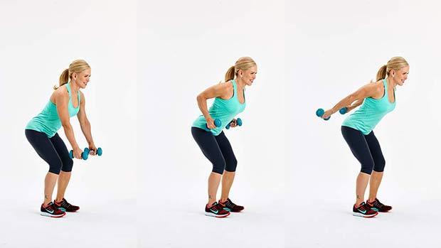 ejercicio tonificar brazos