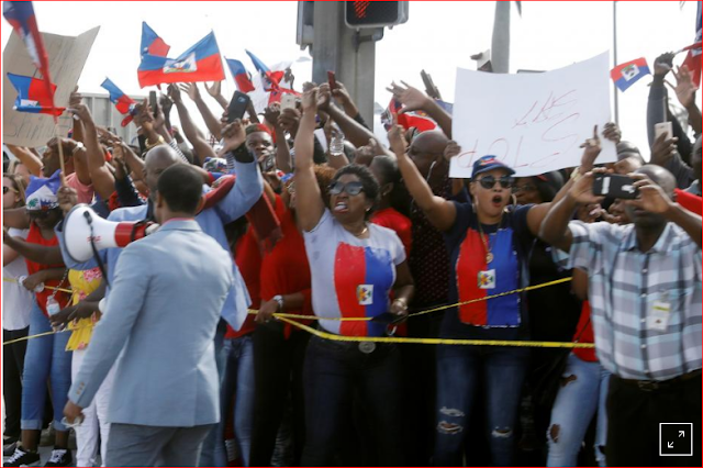 Trump administration bars Haitians from U.S. visas for low-skilled work