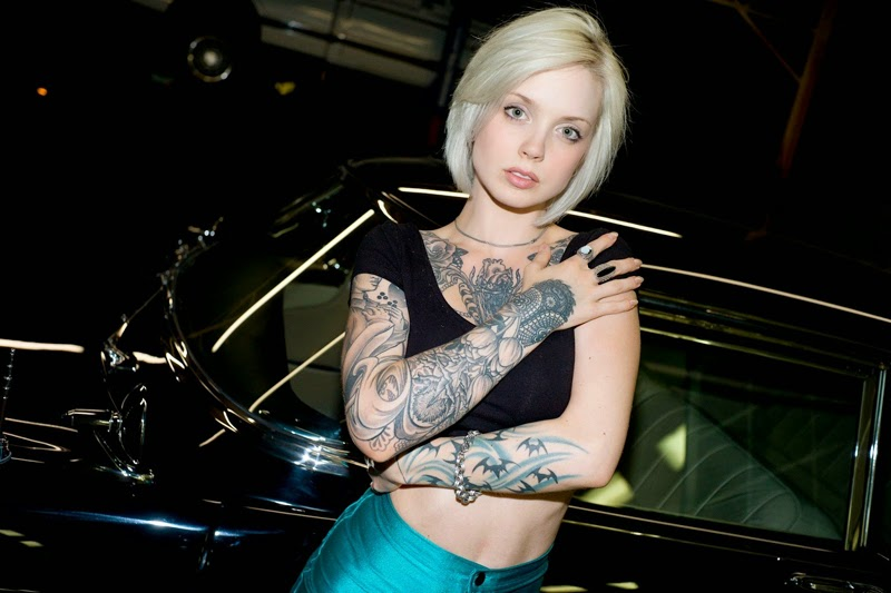 Sara X Mills - Sexy Tattooed Girls Female Models With Tattoos