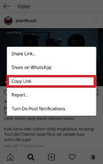 cara download video di instagram pc