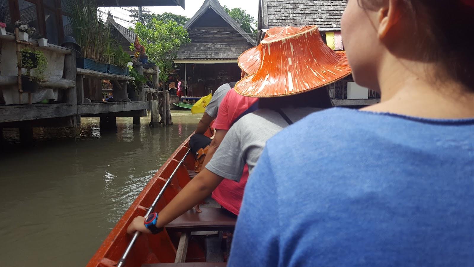泰國四方水上市場