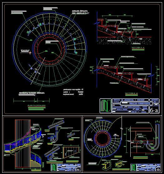 Bibliocad vip descargar archivos gratis detalles - Escalera en espiral ...