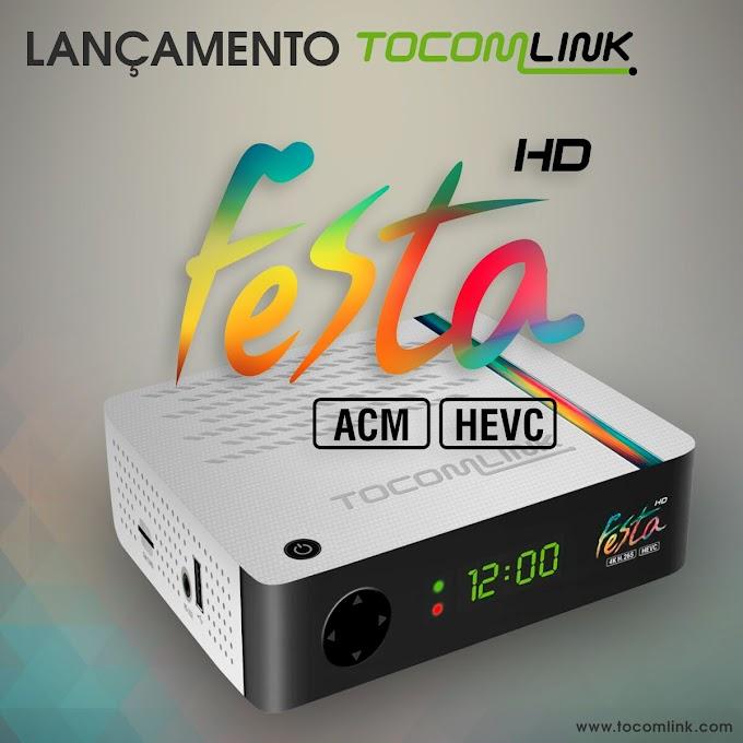 TOCOMLINK FESTA HD NOVA ATUALIZAÇÃO V 1.15 - 30/04/2017