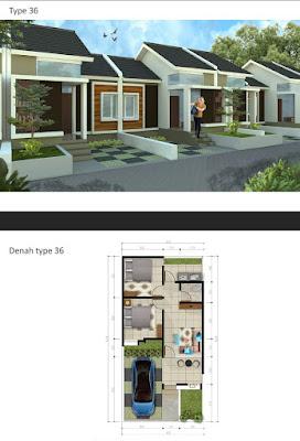 Perumahan Cluster Padasuka Terrace House