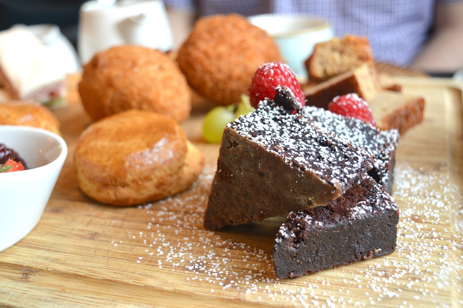 Afternoon Tea at The Painswick Hotel  - Brownie