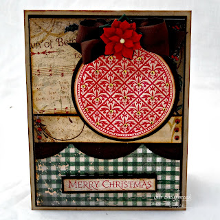 Stamps - Our Daily Bread Designs Vintage Pattern Ornaments, Christmas Pattern Ornaments, Christmas Paper Collection 2013, ODBD Custom Circle Ornaments Die