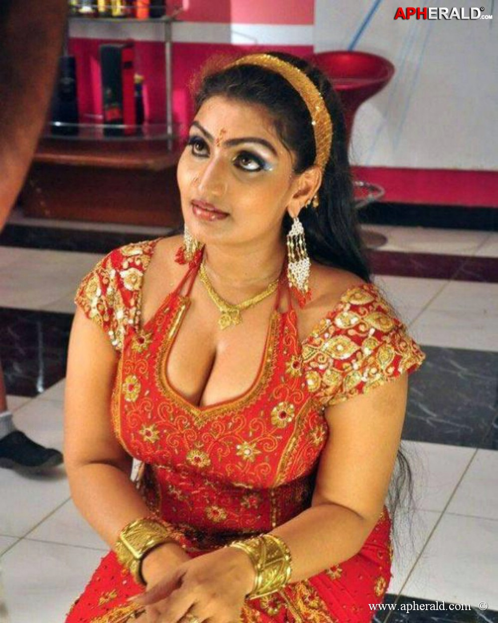 Tamil Hot Aunty Babilona Spicy Photos - Sexy Photolite-1433