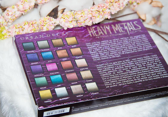 palette - urbandecay - heavymetal