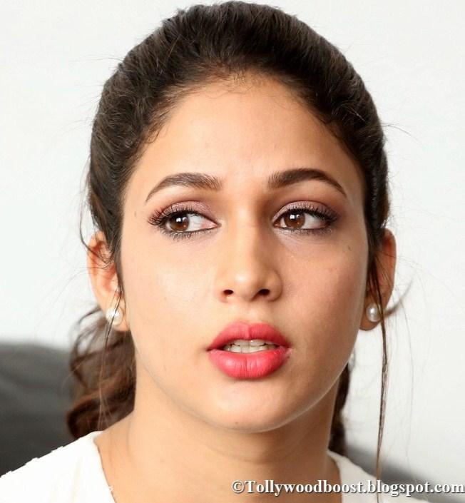 Telugu Actress Lavanya Tripathi Oily Face Close Up Photos