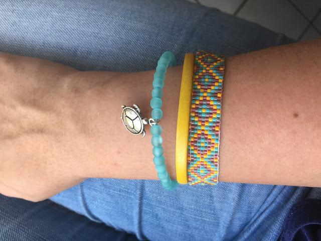parure, DIY, la revue du fil, bracelet, perle des loisirs