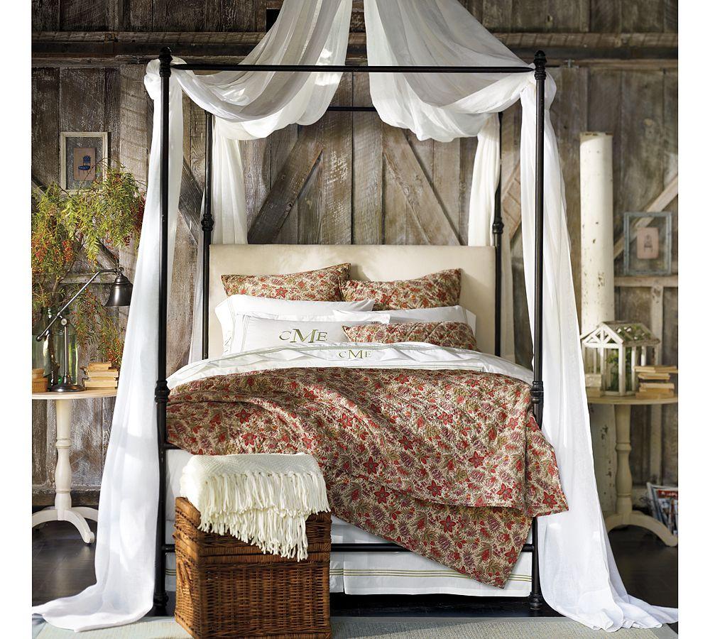 Vintage home love barn door master bedroom makeover reveal - Pottery barn master bedroom ideas ...