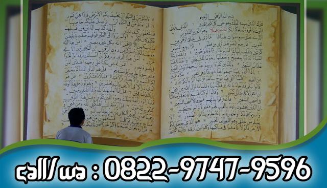 Seniman Lukis Kaligrafi Dinding Masjid Profesional