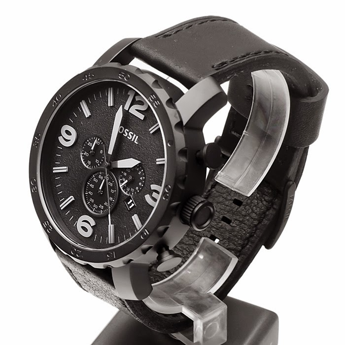 Fossil Nate Chronograph Leather JR1354Rp 1.736.000
