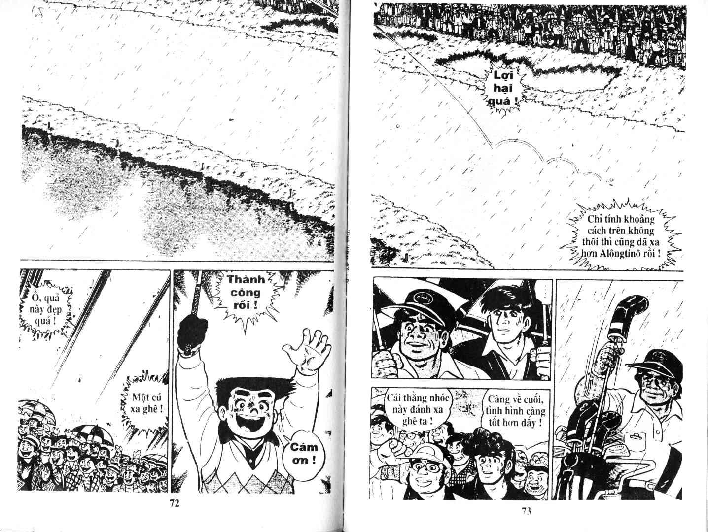 Ashita Tenki ni Naare chapter 47 trang 36