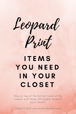 Leopard Print Items you need in your closet this season
